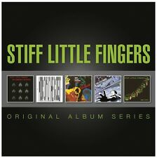STIFF LITTLE FINGERS 5CD NEW Inflammable Material/Nobody's/Hanx!/Go For It/Now