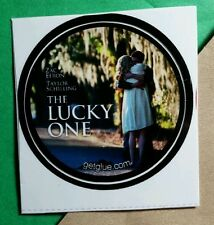 THE LUCKY ONE ZAC EFRON TAYLOR SCHILLING HUGGING STREET MOVIE GET GLUE STICKER