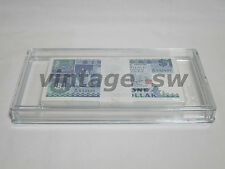 BANKNOTE ACRYLIC CASE *FOR SINGLE STACK COLLECTOR*