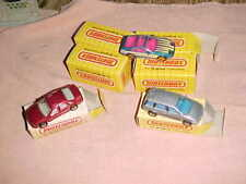 6 MATCHBOX CARS  NEW IN BOXES  NISSAN PRAIRIE   NISSAN-ZX    VECTRA CAVALIER