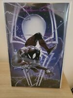 Amazing Spiderman 1 Crain Virgin Black Suit Variant Signed With COA