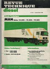 REVUE TECHNIQUE Diesel MAN séries 19.292 19.332 19.362 RTD camion