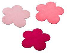 New Childrens Kids Bedroom Playroom Nursery Flower Shape Carpet Rug Mat