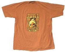 Crosby Stills Nash & Young Freedom of Speech 2006 Tour Orange T Shirt New CSNY
