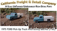 1975 FORD PICKUP W/UTILITY BED KIT (1 Kit) N/Nn3/1:160 California Freight *NEW*