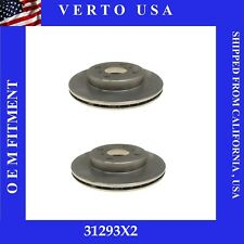 Set Of 2 Disc Brake Rotors- Front   fit Toyota Echo 2000