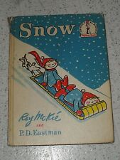 VINTAGE 1962 SNOW DR SEUSS BEGINNER CHILDREN BOOK