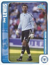 221 JOE LEWIS ENGLAND PETERBOROUGH UNITED STICKER FL CHAMPIONSHIP 2010 PANINI