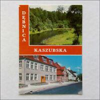 Debnica Kaszubska Postcard (P371)
