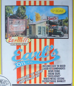 Bar Mills O #804 Earl's Oil -- Laser-Cut Wood Kit