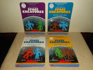 Vintage Nos Diener SPACE CREATURES Series 1,2,3 & 4 Pencil Erasers #9410 1980