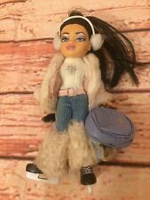 "Little Lil 4"" Bratz Girlz Girls Doll Sno Fun Winter Jade Nazalia Lot Ice Skates"