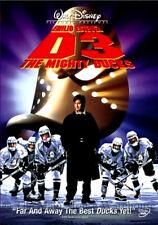 Disney Kids Family Hockey Movie Sports Comedy The Mighty Ducks 3 Sequel D3 DVD