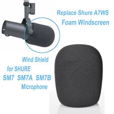 Replace Shure A7WS Pop Foam Windscreen for SHURE SM7B SM7 SM7A MIC Wind Shield