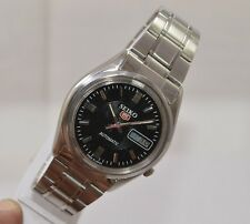 VINTAGE MEN'S SEIKO 5 AUTOMATIC DAY&DATE 17 JEWELS 7009 MOVT. USED WRIST WATCH