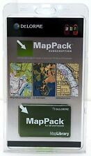 SEALED NEW Delorme MapPack Earthmate/Topo GPS 1-year Subscription USA/Canada Map