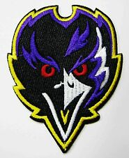 LOT OF (1) NFL BALTIMORE RAVENS EMBROIDERED PATCH LOOKING @ YOU  # 32