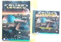Alien Legacy 1995 PC game Disc & both Manuals no box by Sierra
