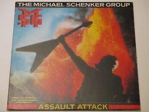MICHAEL SCHENKER GROUP - ASSAULT ATTACK, CHR 1393 CHRYSALIS 1982