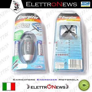 Caricabatteria Motorola Energizer Power bank portatile