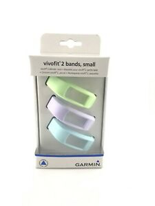 Garmin Vivofit 2 Replacement Bands 3 Pack Size Small New Open Box