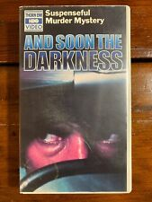 And Soon The Darkness Vhs Thorn Emi Video horror Sov Murder Mystery Cult Rare