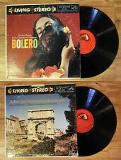 LP Living Stereo Charles Munch Boston Symphony Orchestra Bolero + Reformation