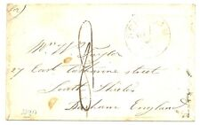 NEDERLAND 1855-07-11 BRIEF OM SCHIEDAM- SOUTH FIELDS ,DURHAM ENGLAND VIA BELGIE