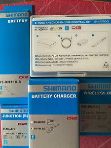 Shimano Dura-Ace DI2 Elektronik Kit, neu und unbenutzt