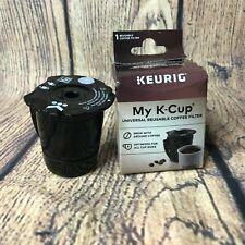 Keurig My K-Cup Open Box Black Universal Reusable Coffee Filter Open Box