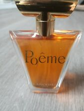 Lancome Poeme 100ml Eau de Parfum for Women used once. Unwanted gift...