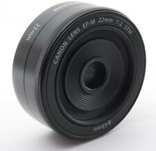 Canon EF-M 22mm f2 STM Compact System Lens for EOS M M2 M3 M6 M10 digital camera