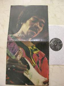 Jimi Hendrix Band Of [Original UK 1st Press Foc Piste Étiquette Album