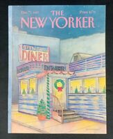 COVER ONLY ~ The New Yorker Magazine, December 7, 1987 ~ Iris Van Rynbach