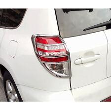 2pcs Fit for Toyota RAV4 RAV 4 09-2012 Chrome Rear Tail Light Lamp Cover Trim