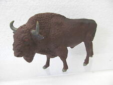 Mes-40464 vecchia lineol bisonte europeo condizione originale, massa dovute all'età crepe,
