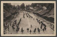 Nias Indonesia: Dutch East Indies MENU CARD K.P.M. LINE Krijgsdansers Warriors