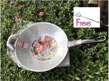 ALUMINUM PAN WITH BLACK HANDLE ..SIZE 30 CM. >>> FREE!!! TURNER <<<