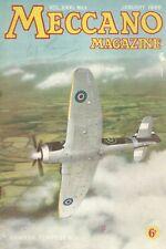 1946 JANUARY 33573 Meccano Magazine Cover Picture  HAWKER TEMPEST II
