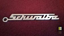 EDELSTAHL Simson Schwalbe Schlüsselanhänger Emblem Logo Schriftzug KR51