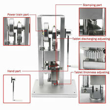 TDP-0 MANUAL TYPE PILL MAKING MACHINE BRAND NEW SINGLE PUNCH TABLET MAKER PRESS