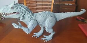 """Jurassic World LARGE Electronic Indominus Rex Lights and Sounds 20"""" Hasbro 2014"""