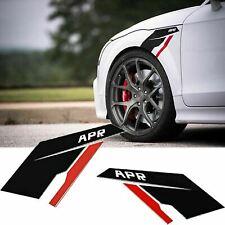Black APR Fender Side Scuttles Vinyl KK Decal Sticker  for VW BMW Audi Porache