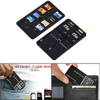 14 Slot Memory Card Storage Carrying Case Protector Box Holder For SD/TF/SDHC/MS