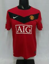 Manchester United Community Shield 2009 home red 2010 original shirt jersey