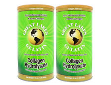 Great Lakes Gelatin, 2 Collagen Hydrolysate 16-Ounce Cans