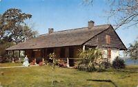 Pascagoula Mississippi~Krebs Lake~Old Spanish Fort & Museum~1950s Postcard