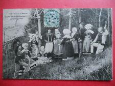 COSTUMES DE CORNOUAILLES  :  Salut à la Mariée..........VO.1905.