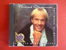 RICHARD CLAYDERMAN One World of Music Un Solo Mundo Musical CD RARE HTF