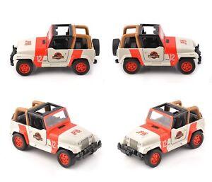Model Toy Vehicles Collection JADA 1/43 Jeep Wrangler Diecast Orange&White Car